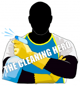 The Cleaning Hero Logo