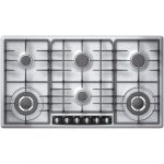 Gas Hob with 6 rings